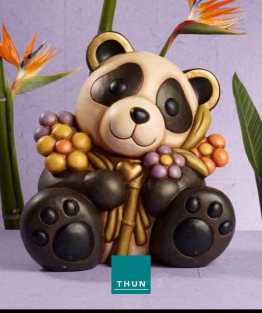 Il panda protagonista del mondo thun nella capsule - Panda thun 2017 ...