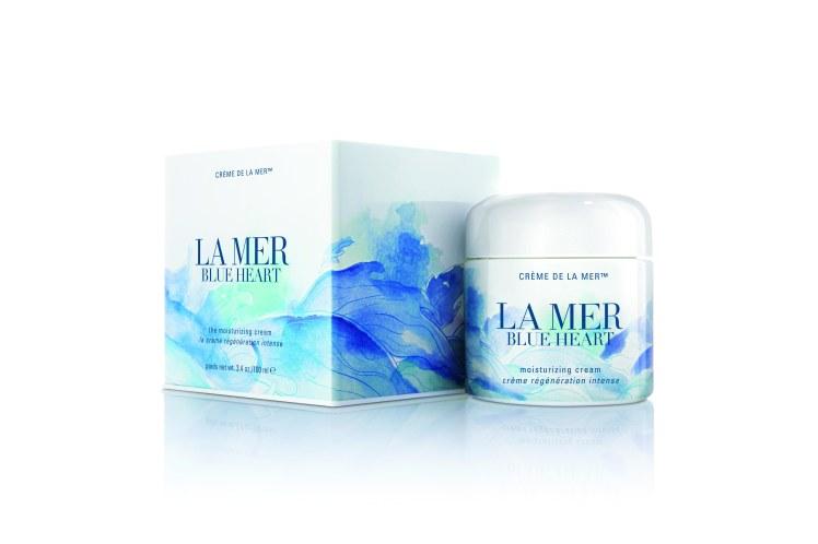 Edizione limitata Blue heart Crème de la Mer  2017