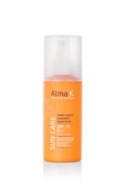 Spray Corpo Idratante Protettivo Alma K Sun Care SPF 15