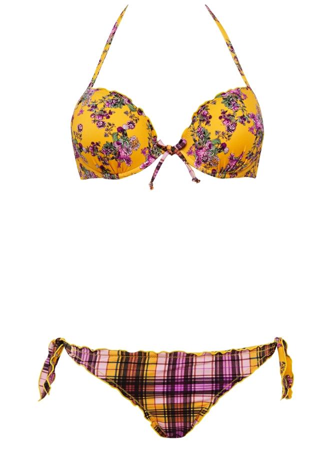 Verdissima bikini collezione estate 2017 scozzese