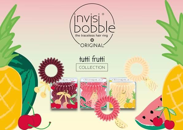 Invisibobble collezione Tutti Frutti, estate 2017