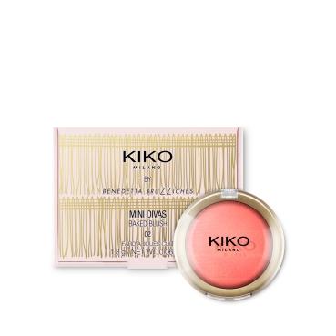 Baked Blush Mini Divas Kiko 02 Embellished Coral