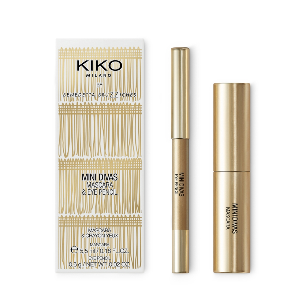 Kit Mascara e Eye Pencil Mini Divas Kiko