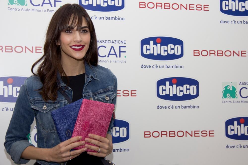 Rocio Munoz Morales, madrina del Chicco di Felicità 2017