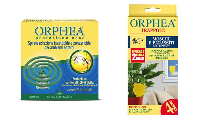 Orphea, protezione naturale contro zanzare e insetti