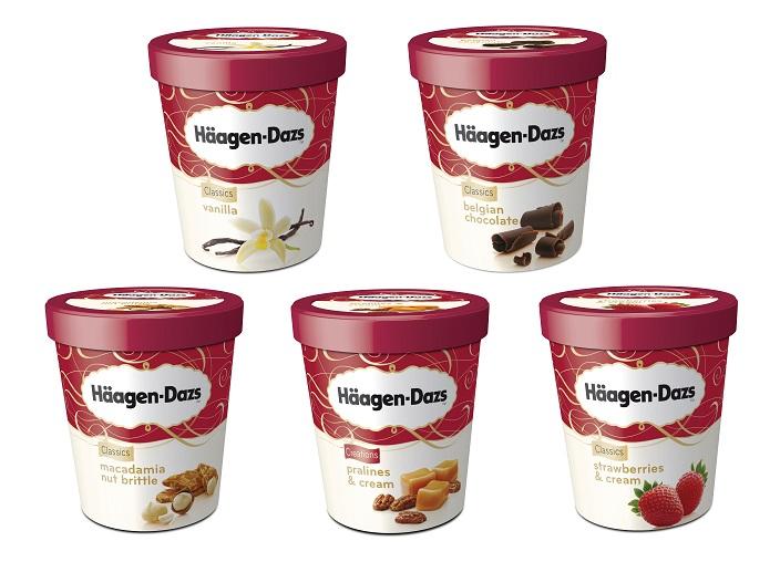 Iconic Flavor, gusti classici di Häagen-Dazs