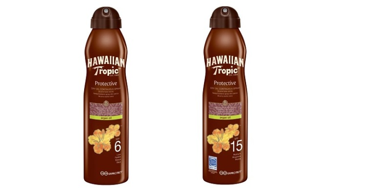 Oil C-Sprays SPF 6 e SPF 15 di Hawaiian Tropic