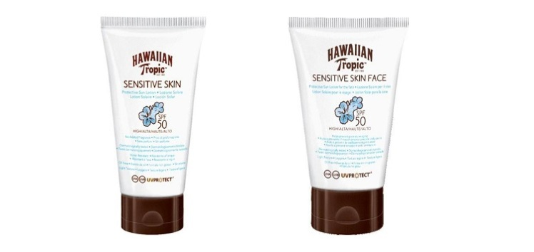Sensitive Skin di Hawaiian Tropic
