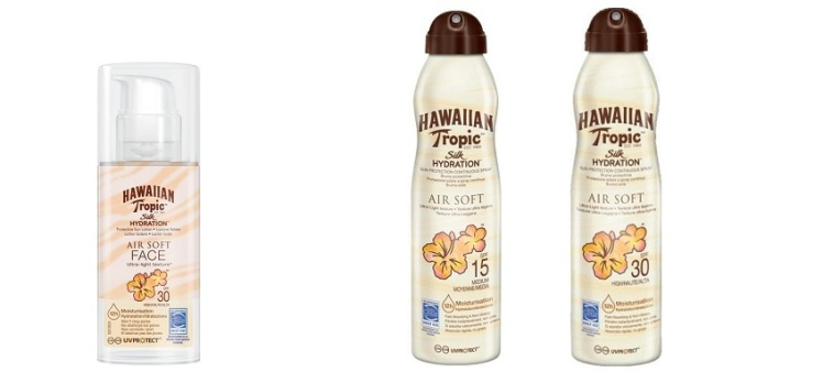 Silk Hydration Air Soft di Hawaiian Tropic