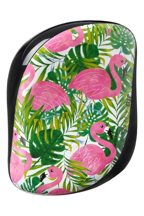 Compact Styler Tangle Teezer, Skinny Dip Palm Flamingo