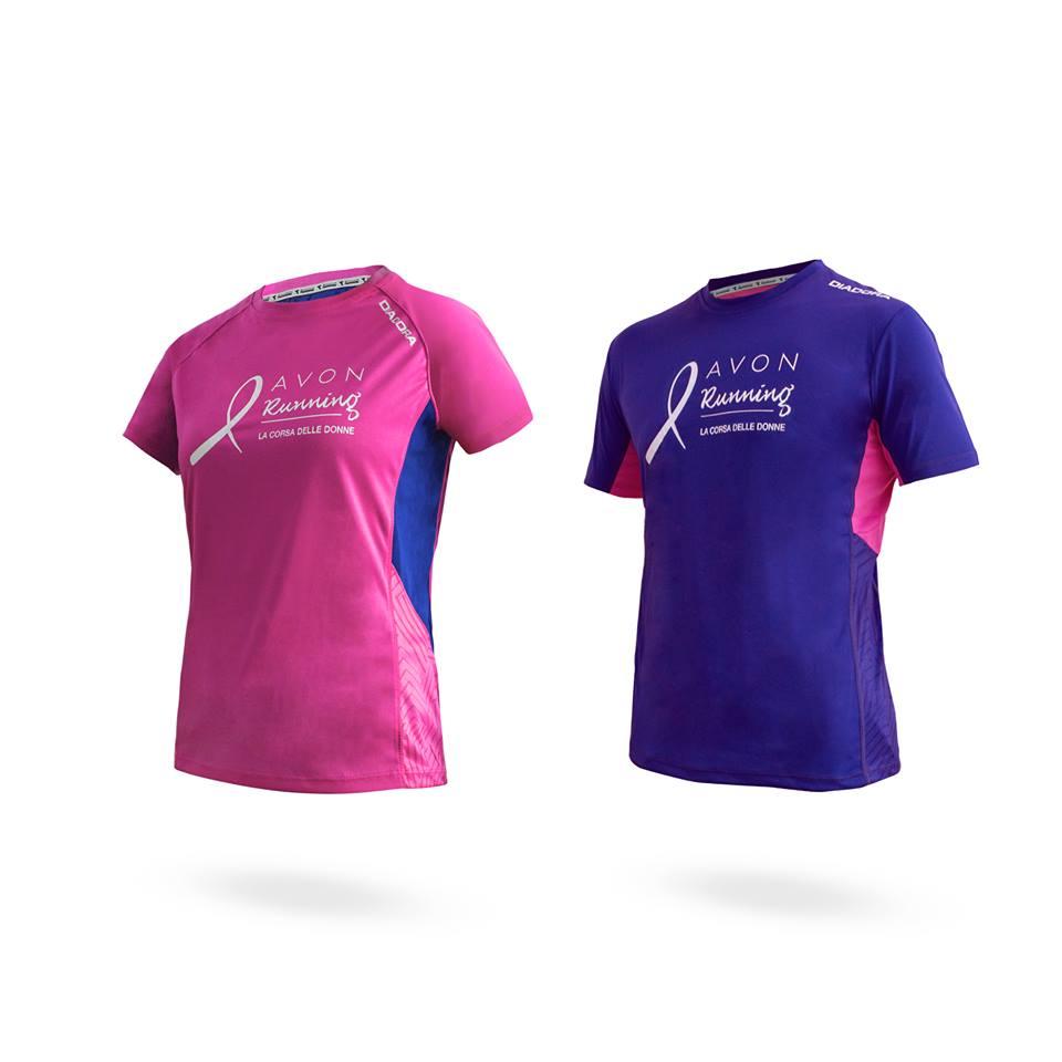 Tshirt ufficiale Avon Running 2017, Diadora