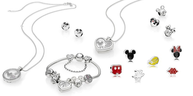Pandora Disney, Minnie e Topolino