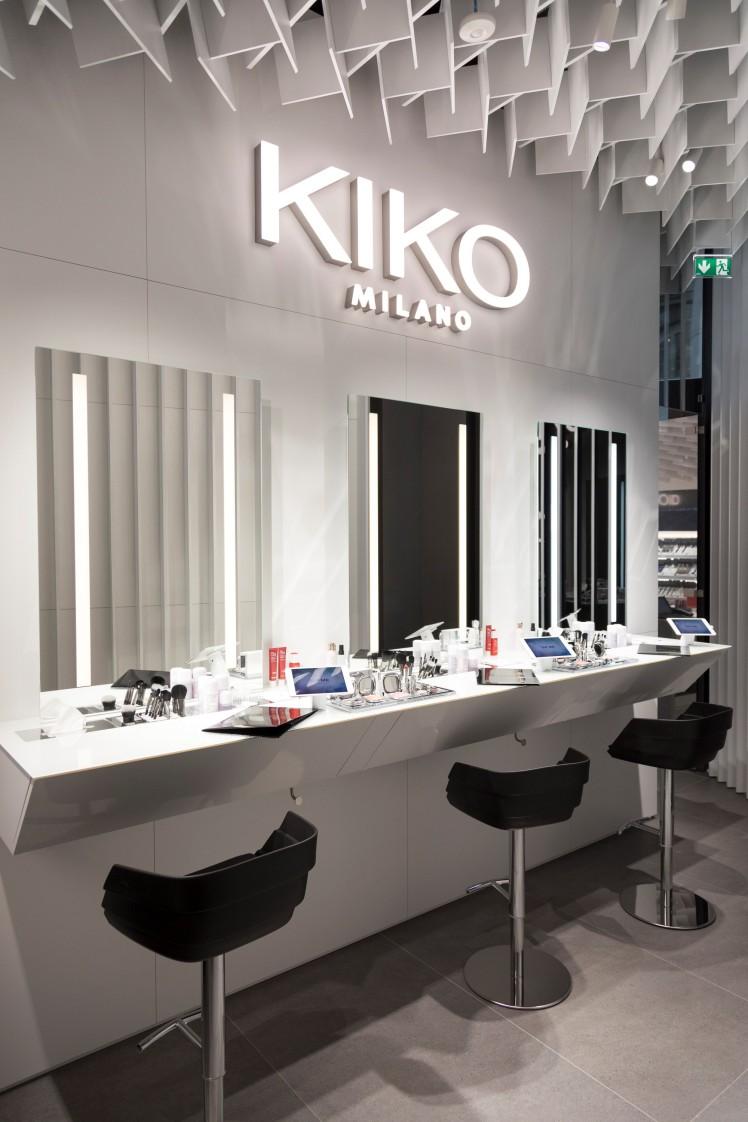 Private Room, KIKOiD di Kiko a Milano, corso Vittorio Emanuele