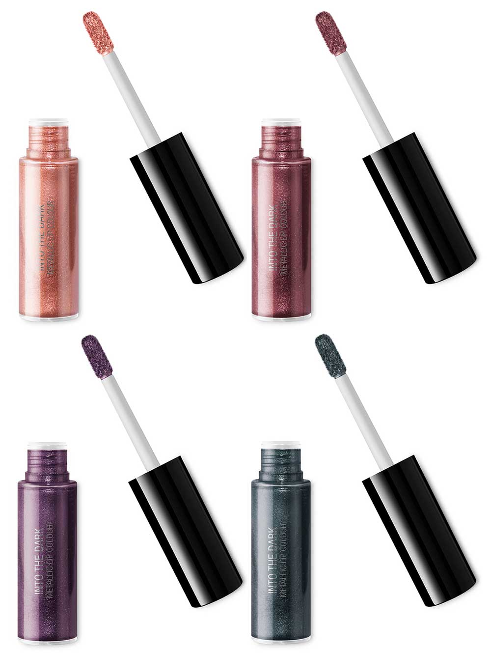 Metallic Lip Colour Into The Dark Kiko
