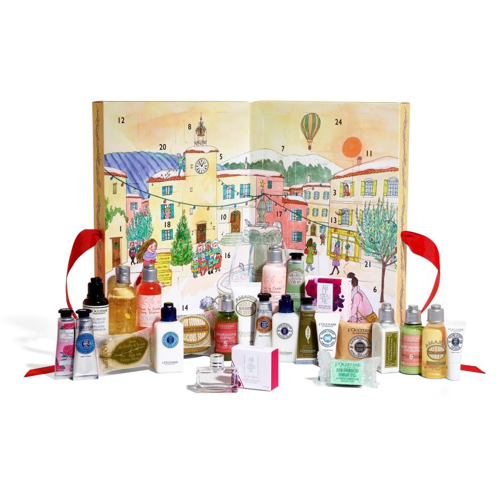 Calendario Classic L'Occitane en Provence, Natale 2017
