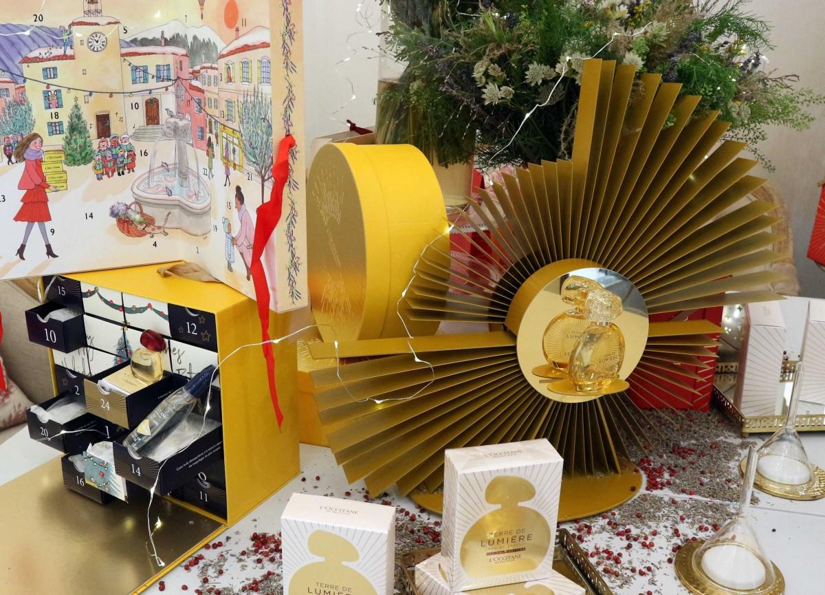 Luci e profumi di Provenza nel Natale di L'Occitane
