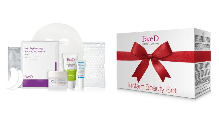 Instant Beauty Set di FaceD, Natale 2017