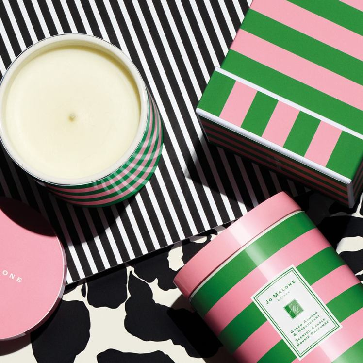 Green Almond & Redcurrant Ceramic Candle