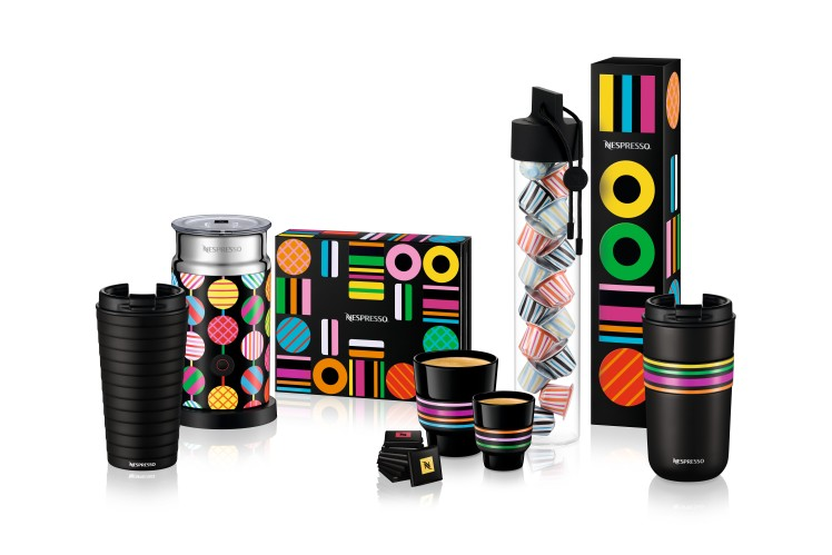 Limited Edition accessori Les Collections Craig & Karl per Nespresso, Natale 2017