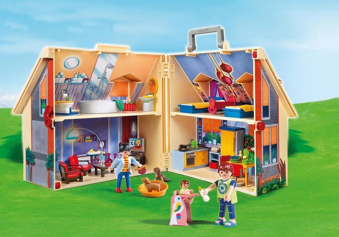 Casa delle Bambole Portatile Playmobil