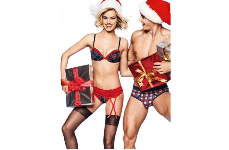 Campagna Yamamay, collezione Natale 2017