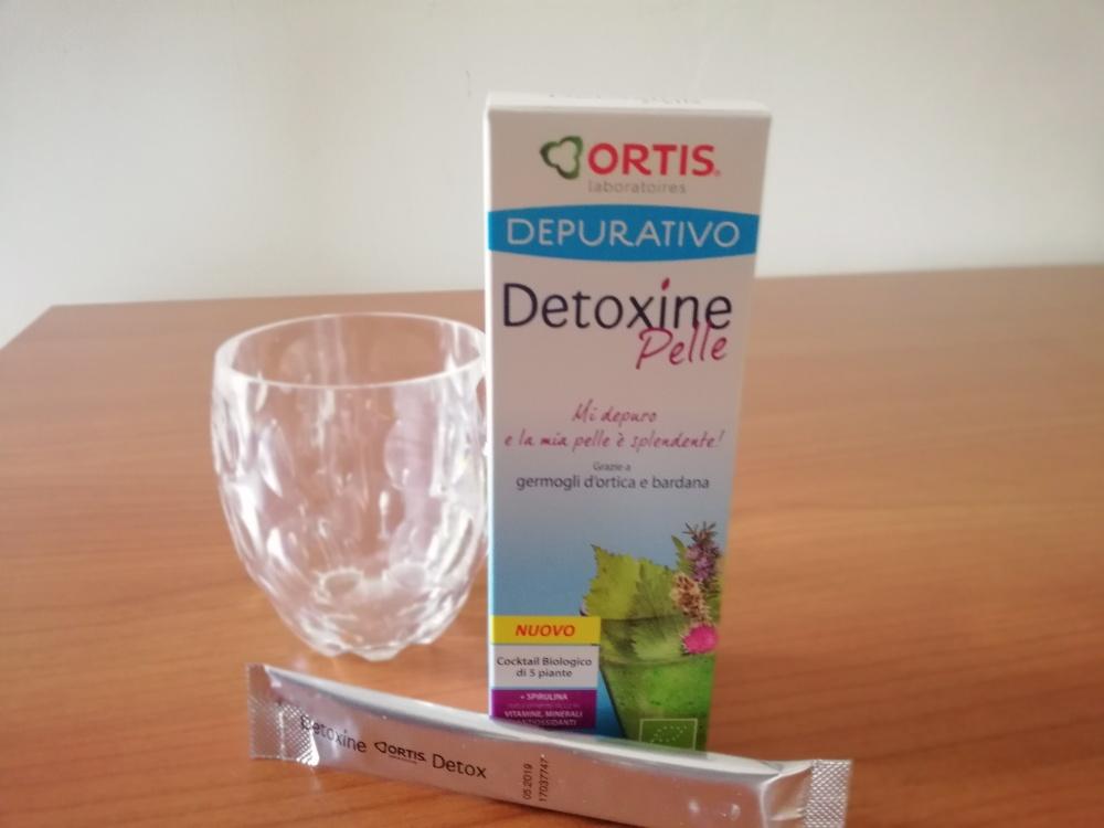 Detoxine Pelle di OrtisLaboratoires per purificare la pelle del viso