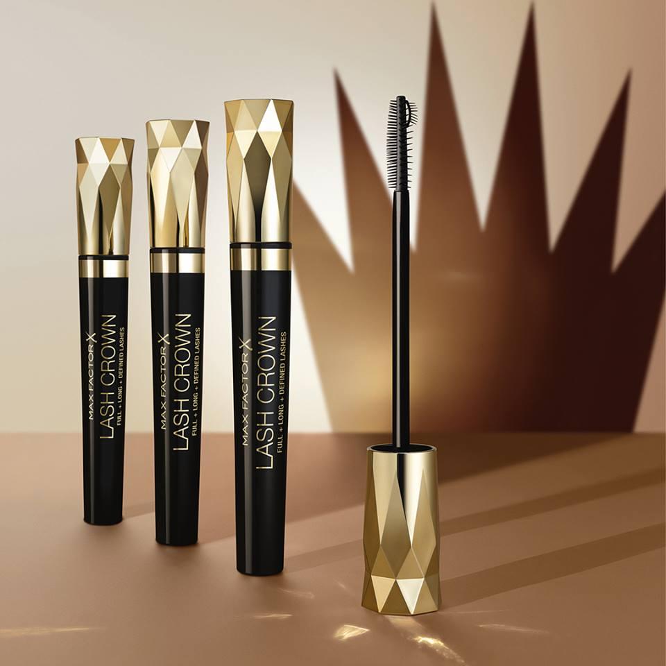 Recensione del fondotintaHealthy Skin Harmony edel mascara Lash Crown di Max Factor