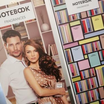 Notebook Fragrances Selectiva, collezione di eau de toilette maschili e femminili