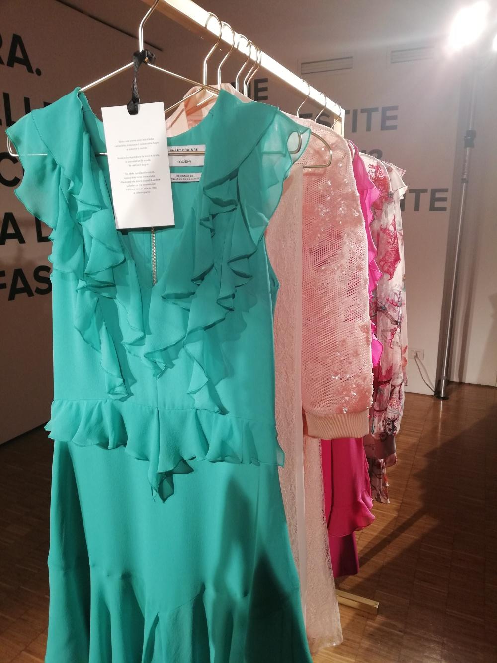 Smart Couture Motivi primavera 2018 firmata da Francesco Scognamiglio