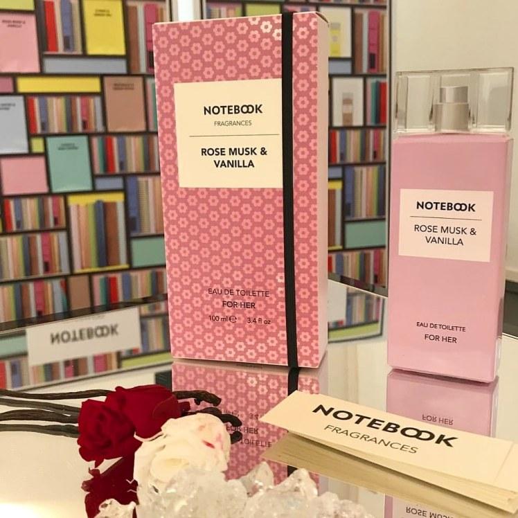 otebook Fragrances Selectiva, collezione di eau de toilette maschili e femminili