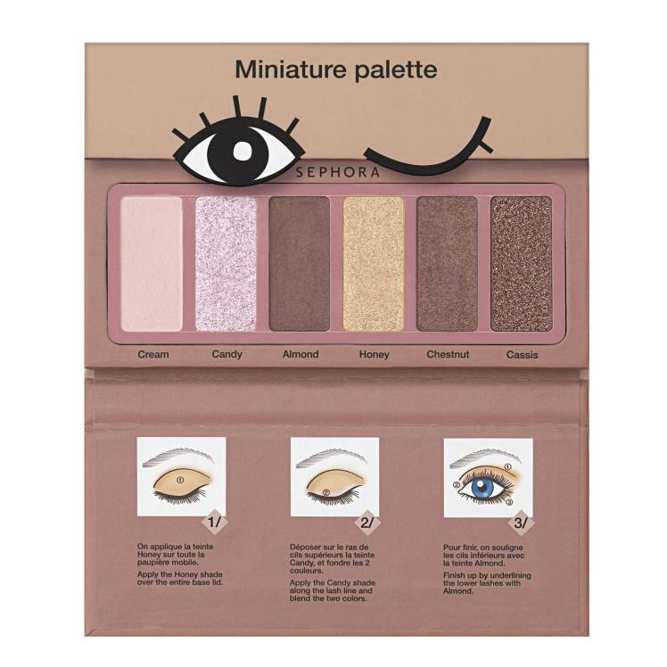 Palette Miniature, kit Sephora Collection Barbie