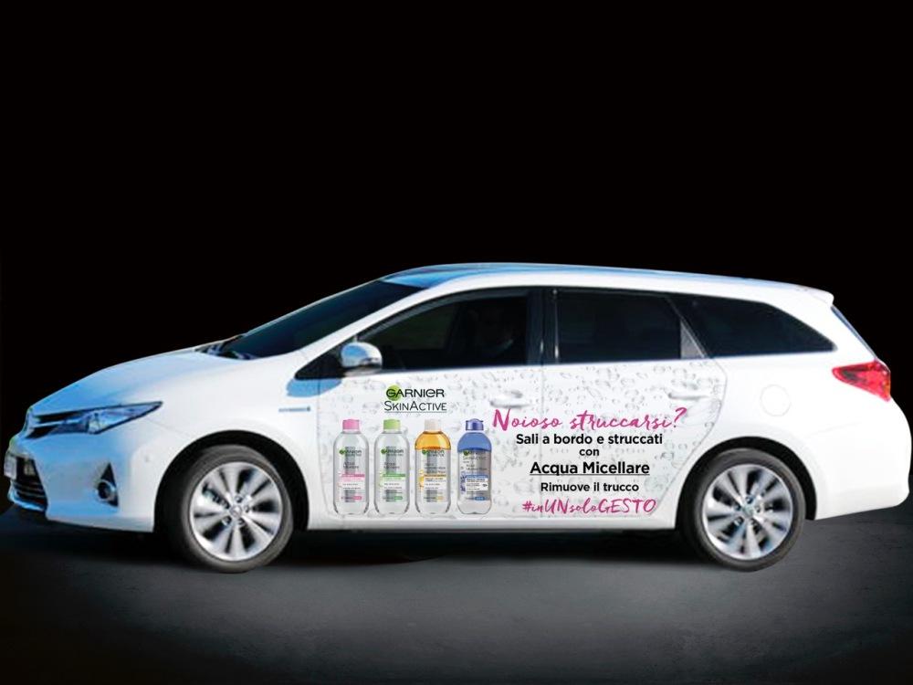 Taxi gratuito con Garnier, acqua micellare bifasica con fiordaliso