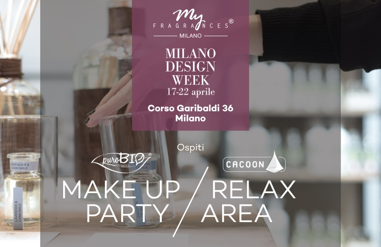 Percorso multisensoriale di My Fragrances al Fuorisalone