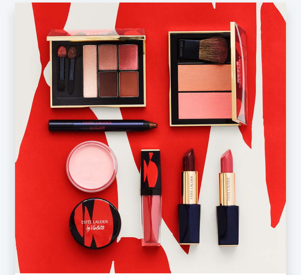 Poppy Sauvage Collection by Violette, limited edition Estée Lauder
