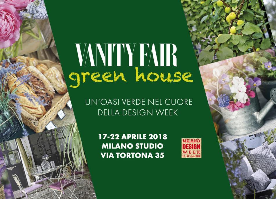 Vanity Fair Green House, oasi verde di relax al Fuorisalone