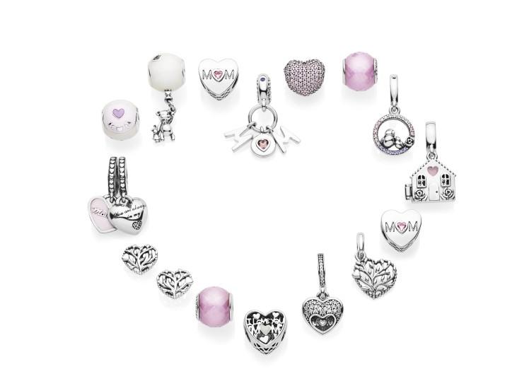 d8d3d725ac3d43 Legami d'amore, la collezione Pandora per la Festa della Mamma ...