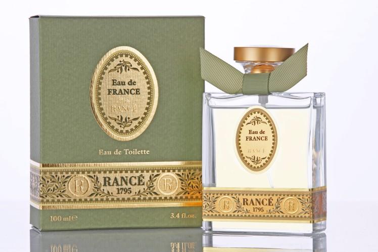 Eau Sublime ed Eau de France, i nuovi profumi di Rancé 1795