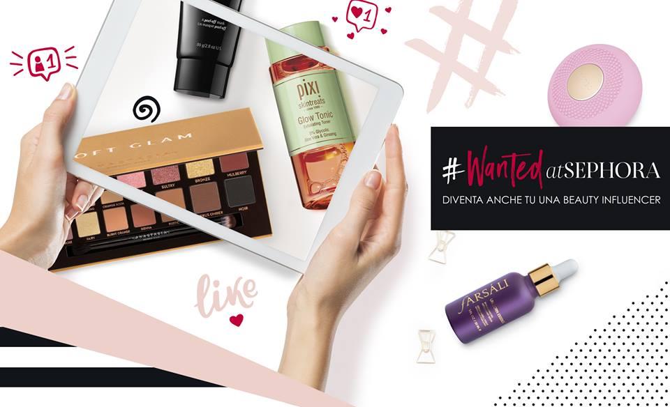 I prodotti Wanted di Sephora e le iniziative in store