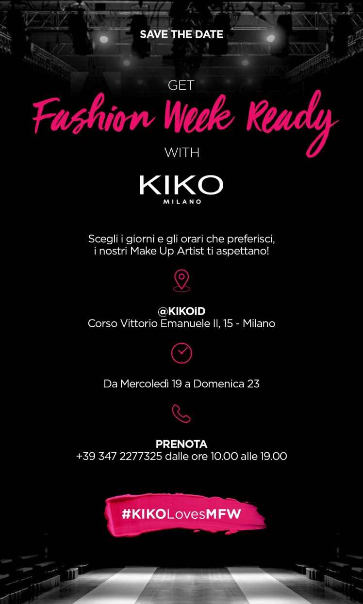 Eventi beauty aperti al pubblico durante la Milano Fashion Week di settembre