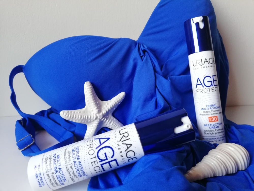 Uriage Age Protect, linea completa contro inquinamento e luce blu