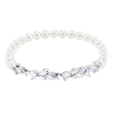 Bracciale Swarovski perle inverno 2018