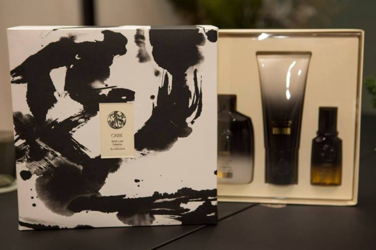 Christmas Box Oribe Hair Care Gold Lust