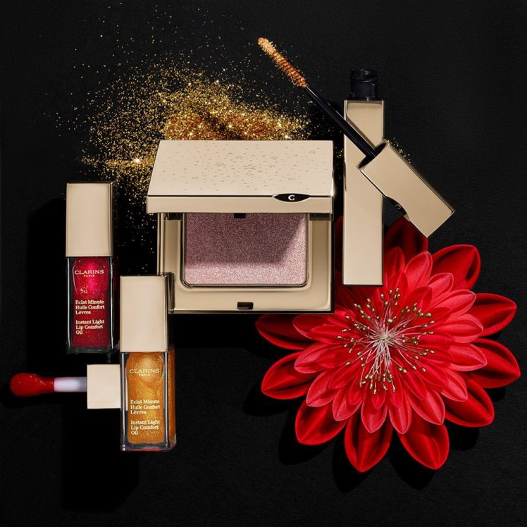 Make-up Clarins per le feste Natale Capodanno