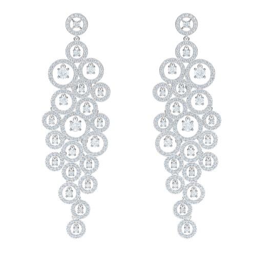 Orecchini chandelier Natale Swarovski