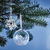 Gioielli e decorazioni in cristallo per le feste, il Natale firmato Swarovski