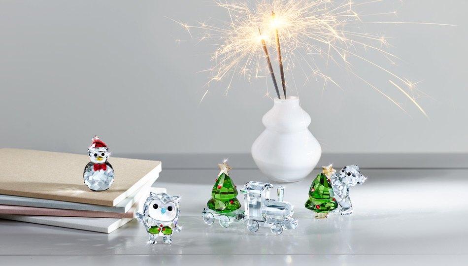 Decorazioni Swarovski per casa e albero di Natale
