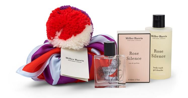 Cofanetto Natale Miller Harris Rose Silence 50 ml e Body Wash 250 ml