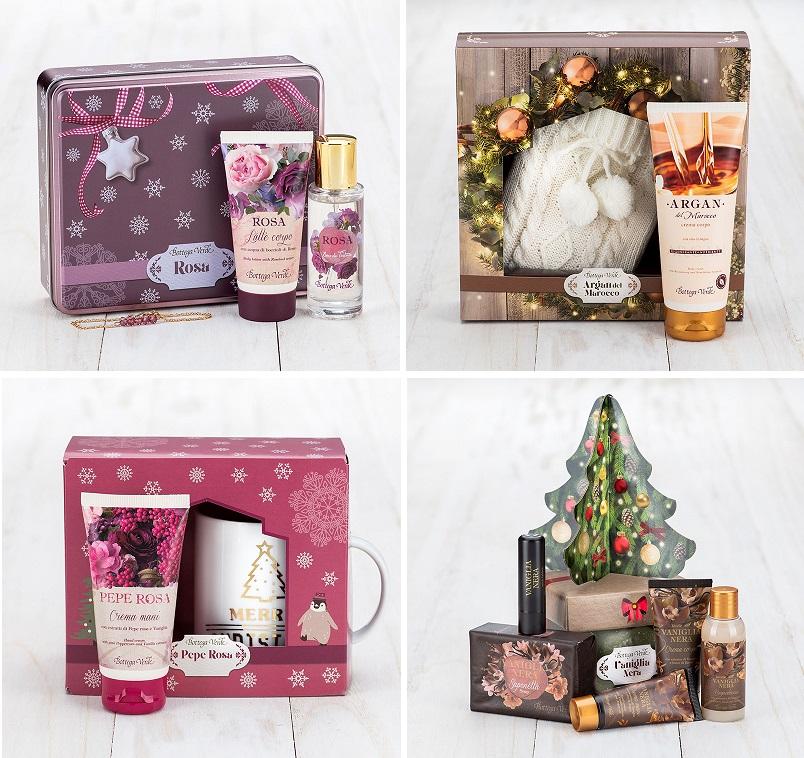 Cofanetti regalo Natale Bottega Verde best seller