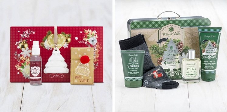Cofanetti Edizioni limitate Natale Bottega Verde