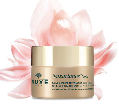 crema Antietà notte Nuxe Nuxuriance Gold
